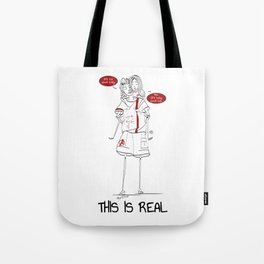 This is real Tote Bag