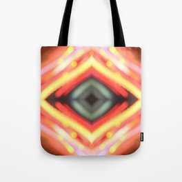 Fire lights Tote Bag