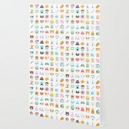 CUTE VET / VETERINARIAN PATTERN Wallpaper
