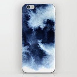 Indigo Nebula iPhone Skin