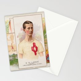 E.D. Lange, Walker, from World's Champions, Second Series (N43) for Allen & Ginter Cigarettes,1888 Stationery Cards