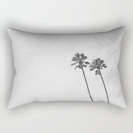 PALM TREES II / San Mateo, California Rectangular Pillow