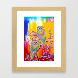Abstract animals Framed Art Print