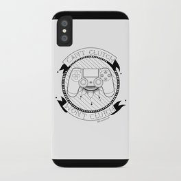 Kat Wont Clutch (PS4) iPhone Case