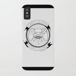Kat Wont Clutch (PS4) iPhone Case