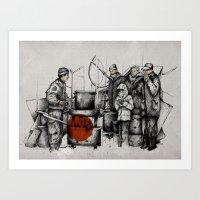 Boiler Art Print