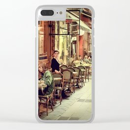 Memory Lane AE Clear iPhone Case