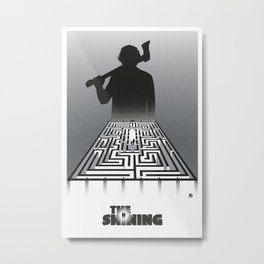 Shining-black version (SK Films) Metal Print