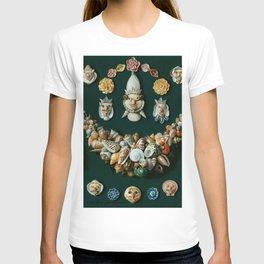 "Jan van Kessel de Oude ""Festoon, masks and rosettes made of shells"" T-shirt"