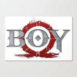 God Of War : Boy Canvas Print