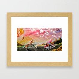 """""""Freedom ride"""" Framed Art Print"""
