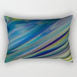 Running Blur Rectangular Pillow