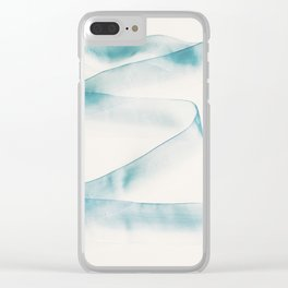 Abstract forms Clear iPhone Case