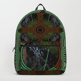 Nature Portals Pattern Backpack