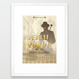 Hercule Poirot Framed Art Print