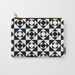 Squares in Squares Carry-All Pouch