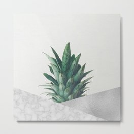 Pineapple Dip VIII Metal Print