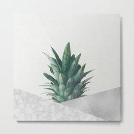 Pineapple Dip VIII Metal Print