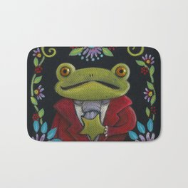Mister Frog Bath Mat