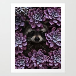 everything is magnified when you live from day to day. Art Print