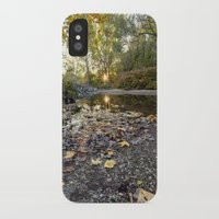 indiana iPhone & iPod Cases featuring indiana fall by Bonnie Jakobsen-Martin