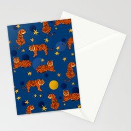 Cosmic Tigers Stationery Cards
