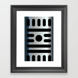 Micro iPhone Framed Art Print