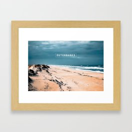 Cape Hatteras Light - Outer Banks - North Carolina. Framed Art Print