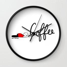 Coffee Save Me... Wall Clock