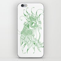 chicken iPhone & iPod Skins featuring CHIcKEN by Hugo Sthl