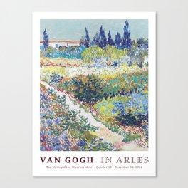 Vincent van Gogh Art Exhibition Canvas Print