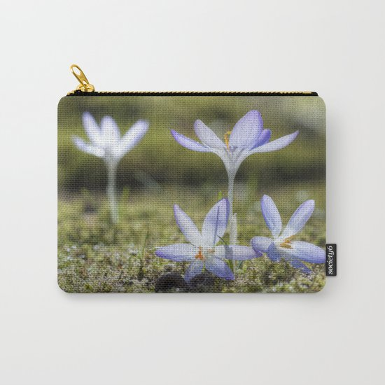 Queen and court- Crocus  Springflowers Carry-All Pouch