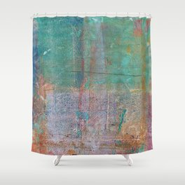 Abstract No. 369 Shower Curtain