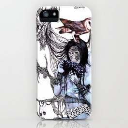 Hungry for sugar iPhone Case