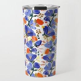 folk spring flowers no2 Travel Mug