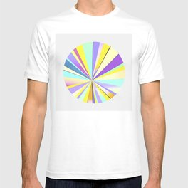 pastel sun T-shirt