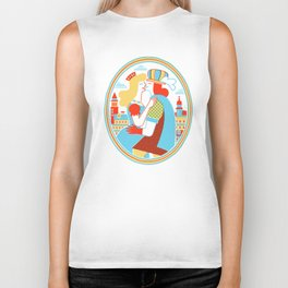 Venice for Lovers Biker Tank