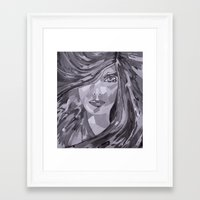 plain Framed Art Prints featuring Plain Jane by Sartoris ART