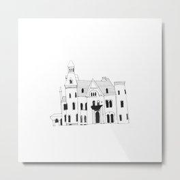 Townhouse I Metal Print