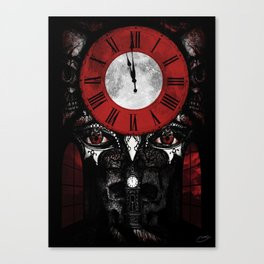 """The Masque of the Red Death"" - Edgar Allan Poe Series Canvas Print"