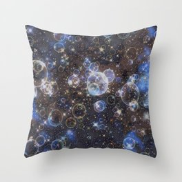 GALATHI Stunning Colors Bubbles Stars - Bubbles Throw Pillow