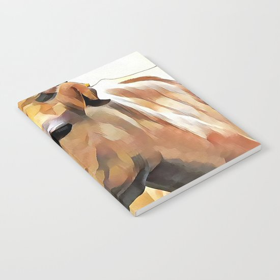 Cow Notebook