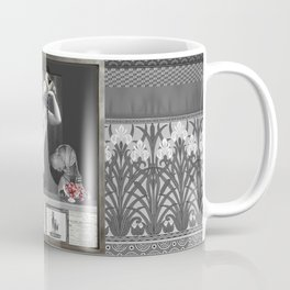 The Showgirl, the Weimaraner and the Grapes.... Coffee Mug