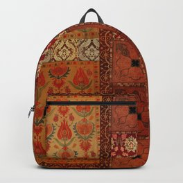 Vintage textile patches Backpack