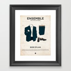 Ensemble - Bob Dylan Framed Art Print