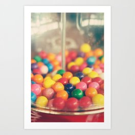 Bubble, bubble Art Print