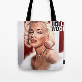 Marylin After a Lifetime in Hollywood Tote Bag