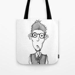 Nerdy #1 Tote Bag