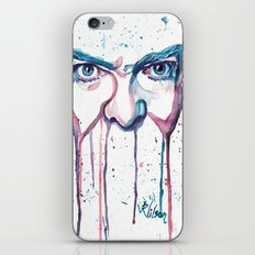 Bowie Watercolor  iPhone & iPod Skin