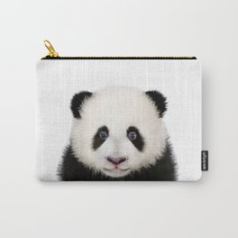 Baby Panda, Baby Animals Art Print By Synplus Carry-All Pouch